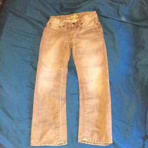 Other - Boys size 8 GAP brown denim straight jeans
